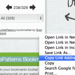 Subtle Patterns bookmarklet