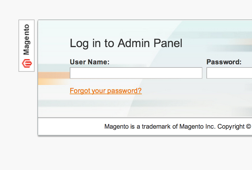 Magento localhost admin panel login issues in Chrome