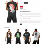 dmtw clothing product page web design